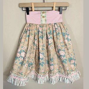 Matilda Jane Platinum Enchanted Rose Dress